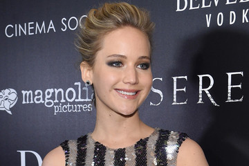 See a 360 View of Jennifer Lawrence's Wispy Updo
