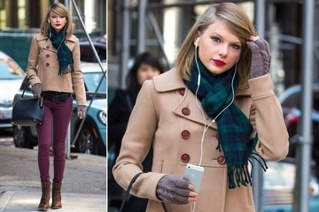 Taylor Swift's Berry Denim