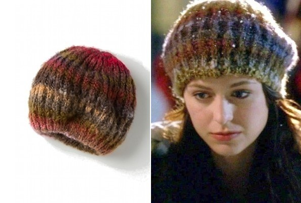 Melissa Benoist's Cozy Beret on 'Glee'