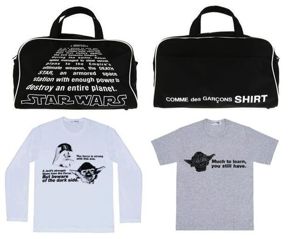 Unlikely Bedfellows of the Day - Comme des Garcons x Star Wars Collaboration