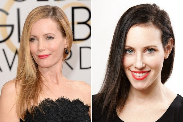 Get the Look: Leslie Mann's Sleek Side Sweep