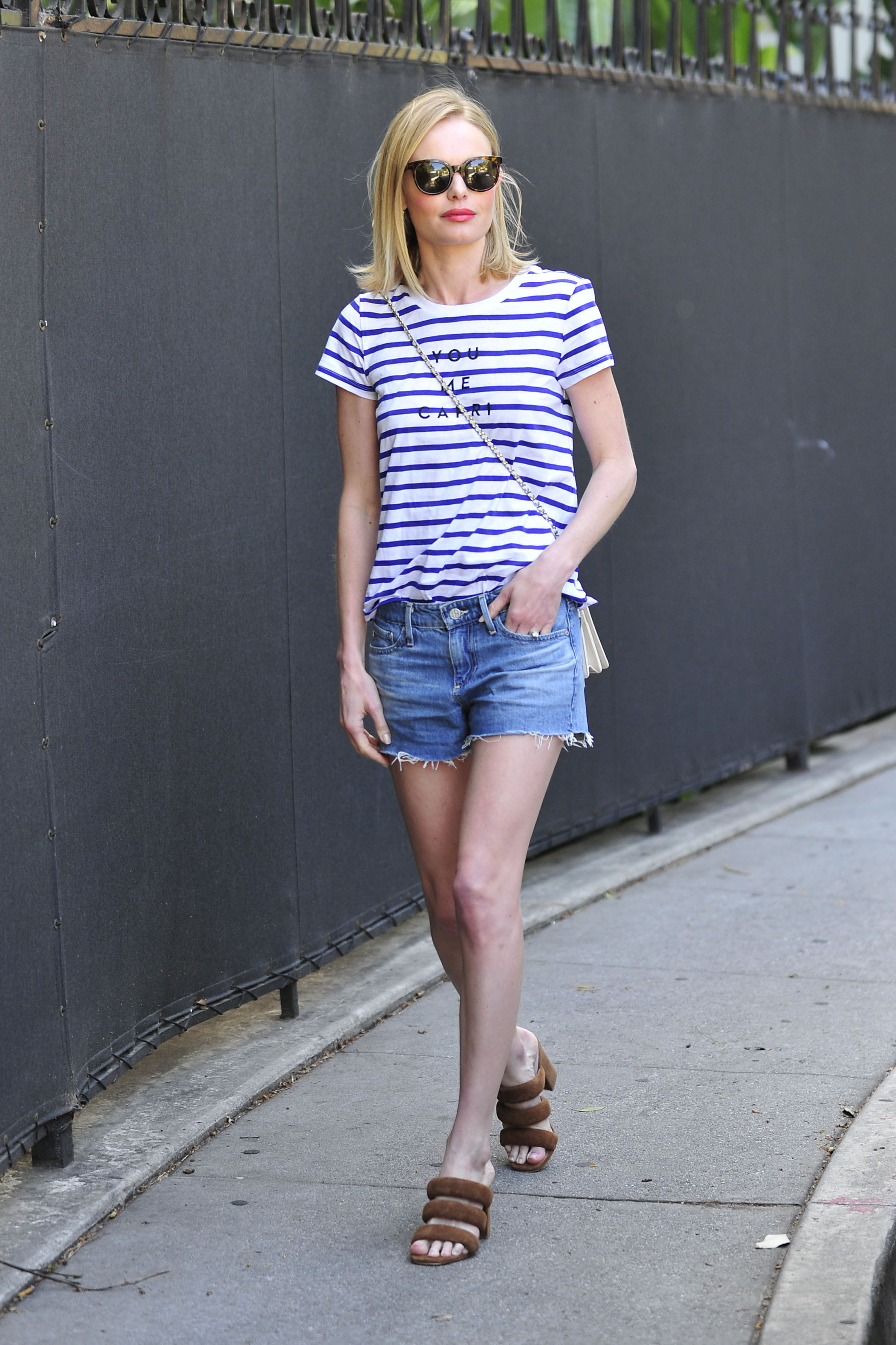 MILLY for DesigNation You Me Capri Striped Tee, $40, at Kohl's