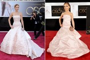 BEHOLD - Tiny Celebrity Impersonators Model Oscars Gowns