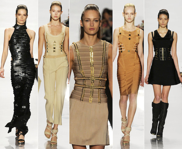 Hervé Léger Fall 2011: Loosening Up