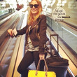 Jessica Chastain Travels in Style