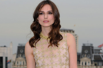 Keira Knightley's Gorgeous Golden Dress