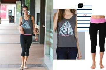 Found: Alessandra Ambrosio's Cute Gym Outfit