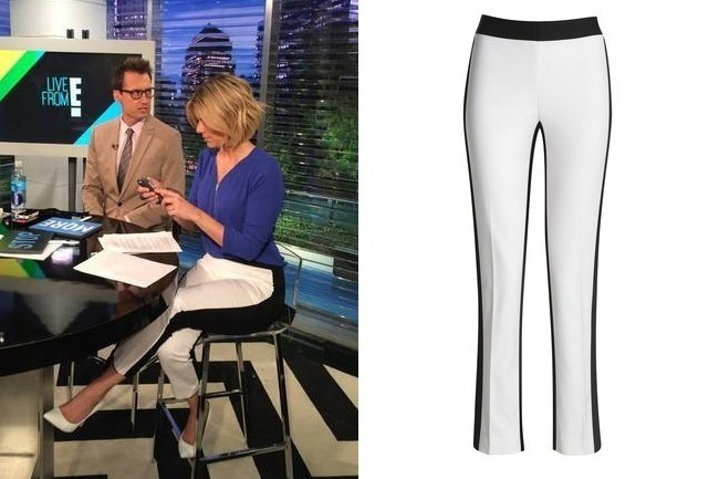 Found: Ali Fedotowsky's Colorblock Pants