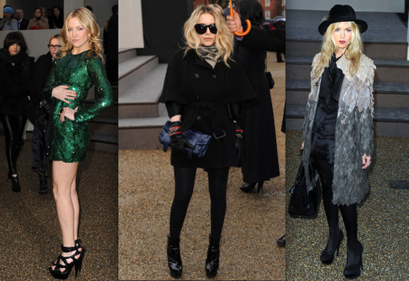 Best and Worst Arrivals at London Fashion Week 2010