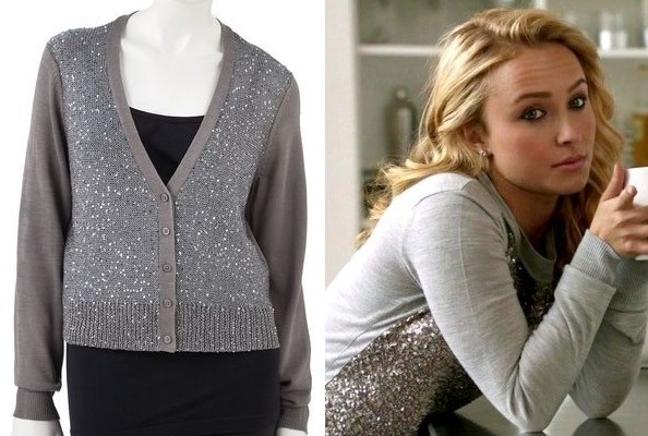 A Sequin Sweater Like Hayden Panettiere's on 'Nashville'