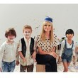 Heidi Klum Has Fun With Kids