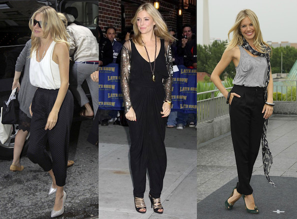 Sienna Miller - Celebrities Love Harem Pants