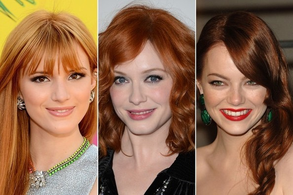 Red Hair Color: The Most Gorgeous Redheads in Hollywood