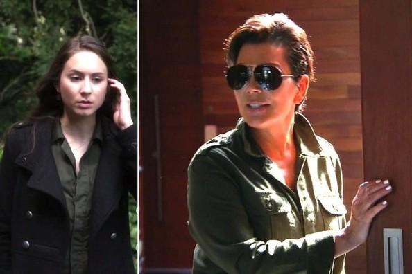 Seeing Double: Troian Bellisario and Kris Jenner Sport the Same Cargo Romper on TV