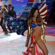 2012—Lily Aldridge Shows Off US Pride