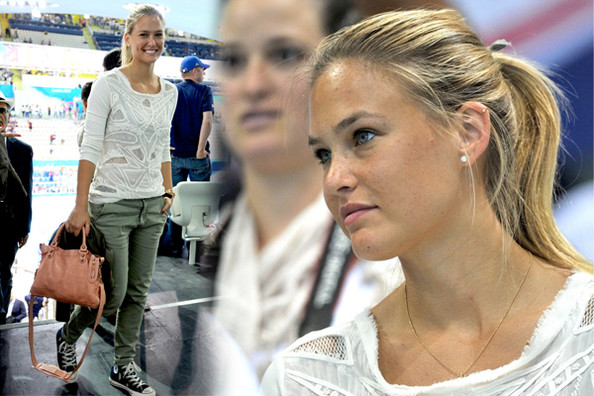Look of the Day: Bar Refaeli's Olympic Style