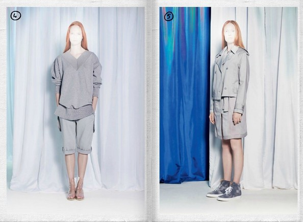 MM6 Spring 2013 Show Report - Wearable, Minimalist, and Ever So Slightly Sporty