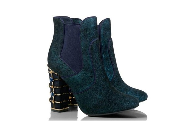 The embellished bootie