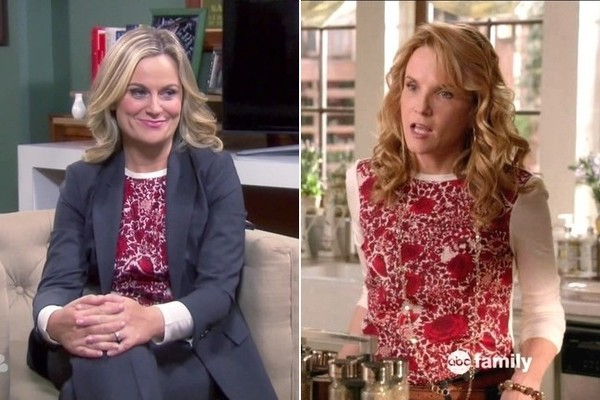 The Two Printed Blouses Amy Poehler Shares on 'Parks and Recreation'