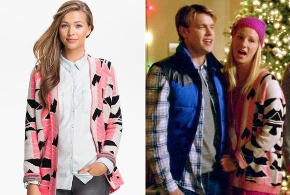 Heather Morris' Open Cardigan on 'Glee'