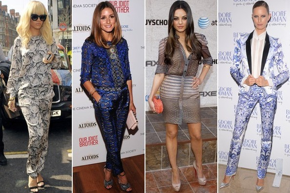 15 Celebs Who Aren't Afraid to Rock the Matchy-Matchy Trend