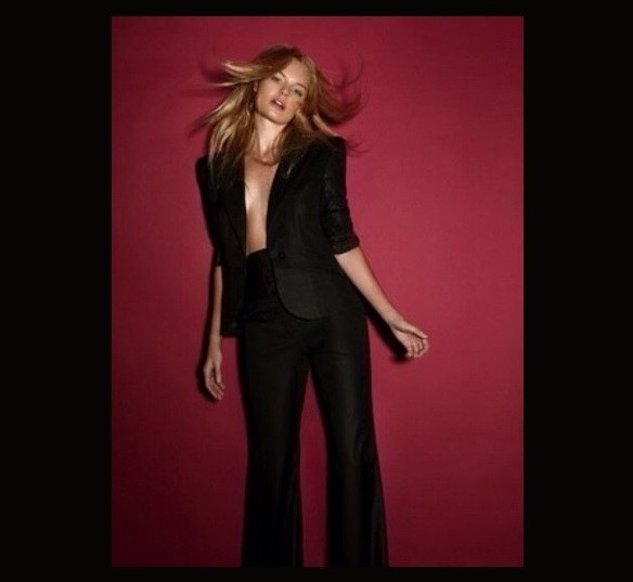 Kate Bosworth Dances it Up in a Suit