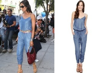 Found: Padma Lakshmi's Chambray Jumpsuit