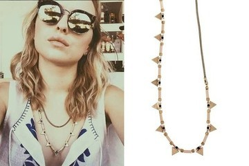 Found: Francesca Eastwood's Beaded Chain Necklace