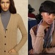 Kerry Washington's Cable-Knit Cardigan