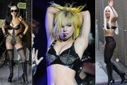 Lady Gaga Goes Everywhere Topless