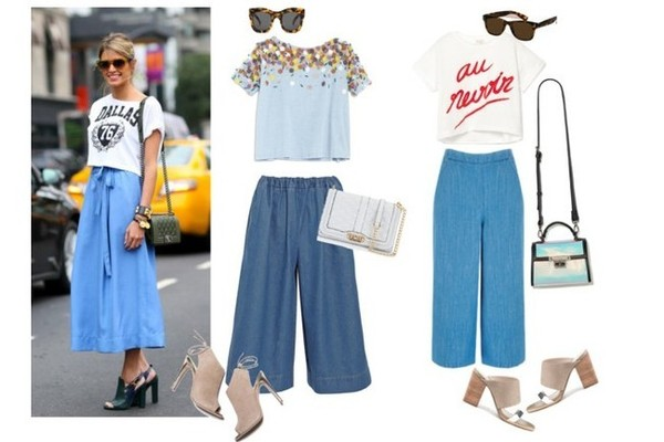 Now This is How You Wear Culottes