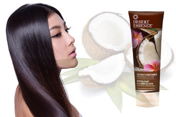 Current Obsession: Desert Essence Coconut Shampoo and Conditioner