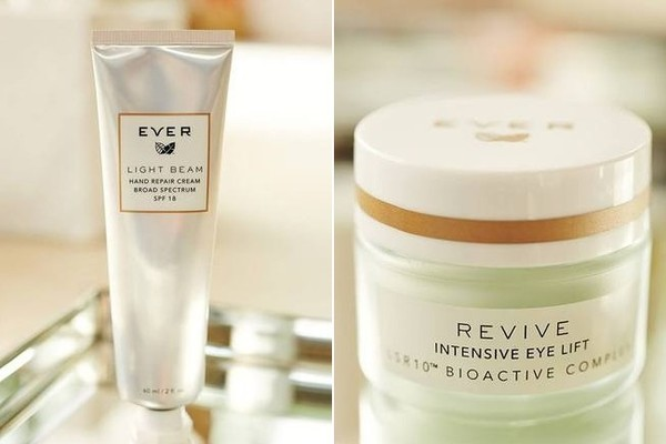 Light Beam Hand Repair Treatment, $40. Revive Intensive Eye Lift, $55.