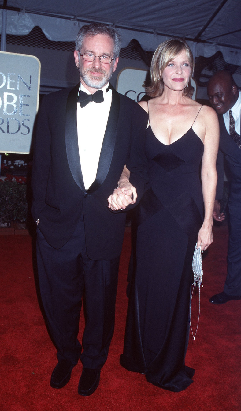 Kate Capshaw 1999 This Is What The Golden Globes Looked