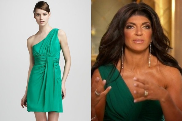 A Green Dress Inspired by Teresa Giudice on 'The Real Housewives of New Jersey'