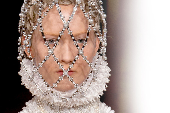 Bizarrely Beautiful Paris Runway Fashion