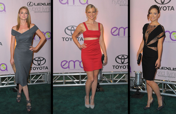 Best and Worst Dressed at the 2009 Environmental Media Awards
