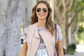 Stacy Keibler's Sweet Summer Layers