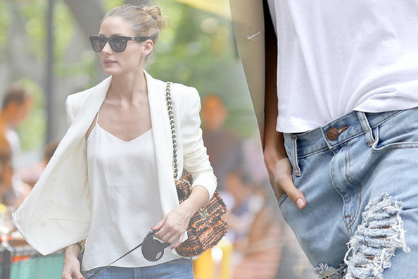 How to Style Your Distressed Jeans This Spring