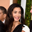 Amal Clooney's Layered Lengths and Red Lips