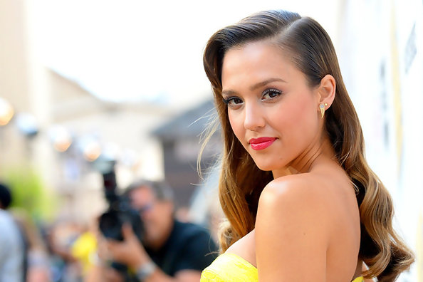 Jessica Alba on the Red Carpet