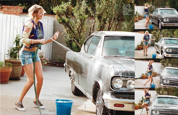Kate Upton's French 'Elle' Shoot Is Cute, Cleavage-Free