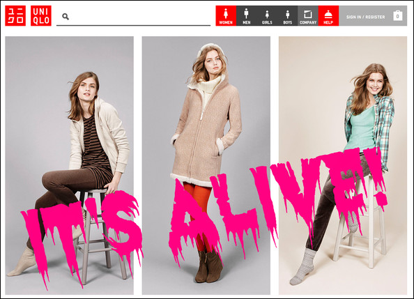 FINALLY: Uniqlo E-Commerce is Live!