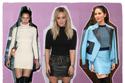 The Chicest Ways Celebrities Style Thigh-High Boots