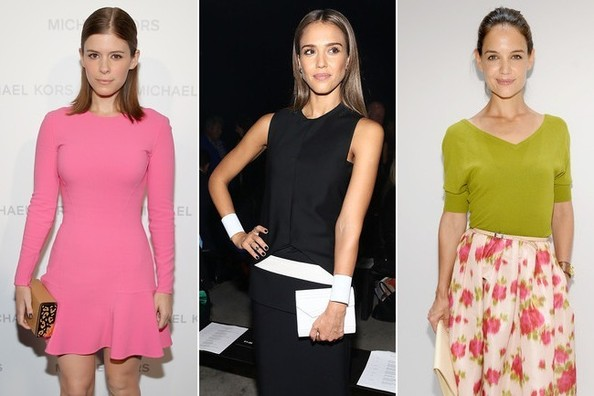 Best Dressed Front Row Celebs at NYFW Spring 2014