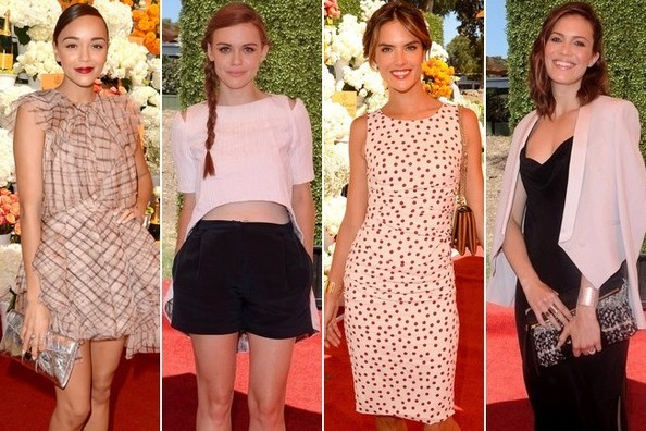 Best Dressed at the Clicquot Polo Classic 2013