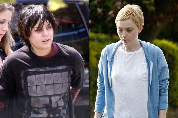 nj6yelZUZhVl Vanessa Hudgens and Dakota Fanning Cut Their Hair for Critical Acclaim