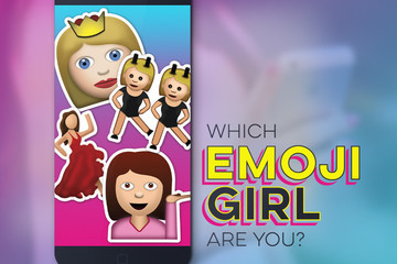 Which Emoji Girl Are You?