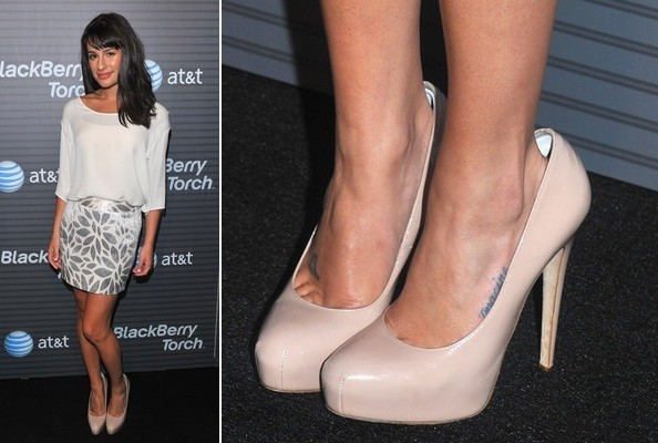 Lea Michele at the Blackberry Torch Launch