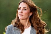 Kate Middleton Styled Her Hair In Gorgeous Waves To Announce Huge Charity Donation